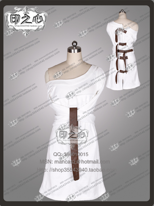 Personnalisée film Alice Madness Returns cosplay madness retours D'asile partie Robe Cosplay Costume