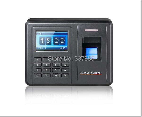 ФОТО Fingerprint +rfid+password biometric access control time attendance with TCP/IP