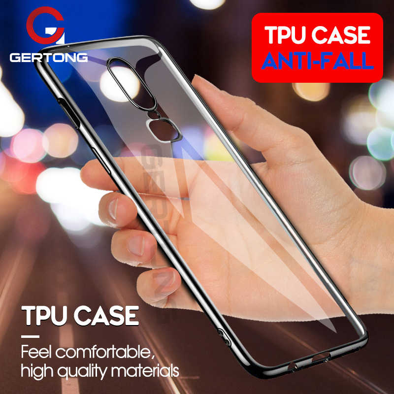 Caixa clara alta do telefone do chapeamento tpu para oneplus 6 5 t 5 t oneplus6 a6000 1 + 6 um mais 6 5 cinco silicone capa fundas coque