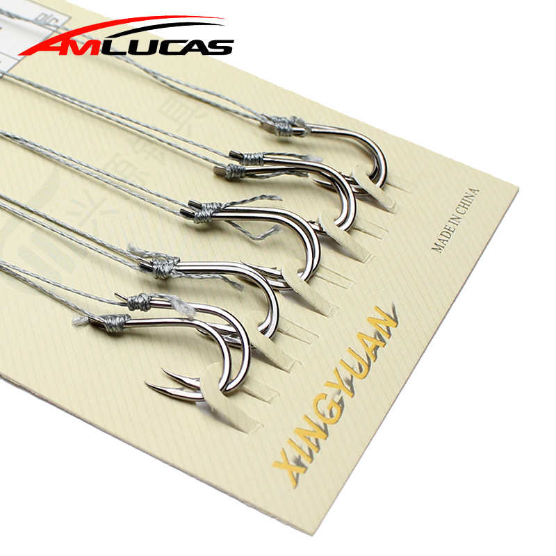 10Pcs/lot Fishing hook Crank String Japan Series Hooks Freshwater Catch Barbed Fishing tackle Pesca Baits Single Hook we1083