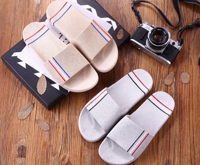Модные Водонепроницаемые тапочки большой Размеры классический Для мужчин легкие пляжные обувь, тапочки большой Размеры 025