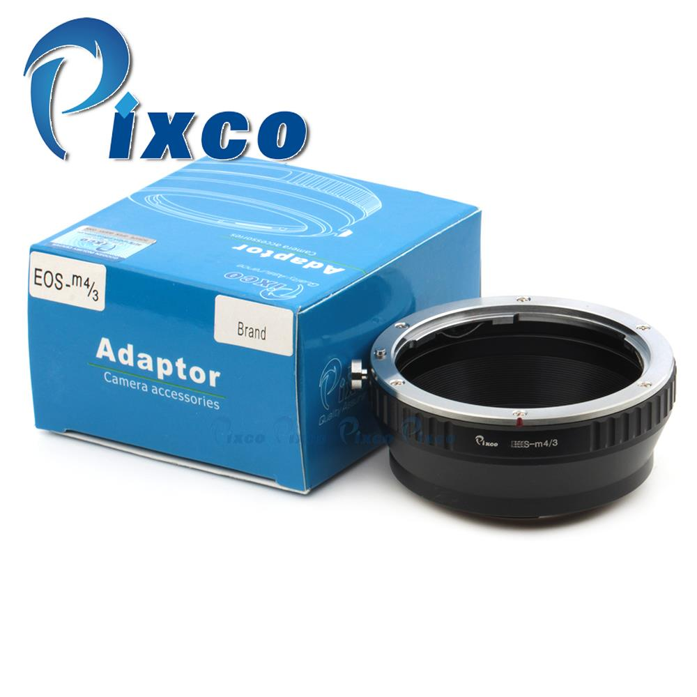 Pixco lens adapter works for Canon EO.S EF EF-S Lens to Micro 4/3 M4/3 Mount camera GF2 GF3 G3 GH2 E-P3 E-P5 E-PL5 E-PM2