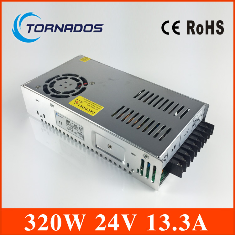 Ce承認さpfc機能24ボルト13.3a 320ワットシングル出力スイッチング電源高効率smps SP 320 24  グループ上の 家のリフォーム からの スイッチ 電力供給 の中 1