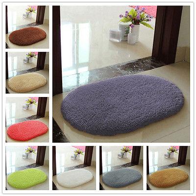 8 barev Protiskluzový koupelnový koberec Měkká podlahová rohož Paměťová pěna Mat ložnice Pokoj