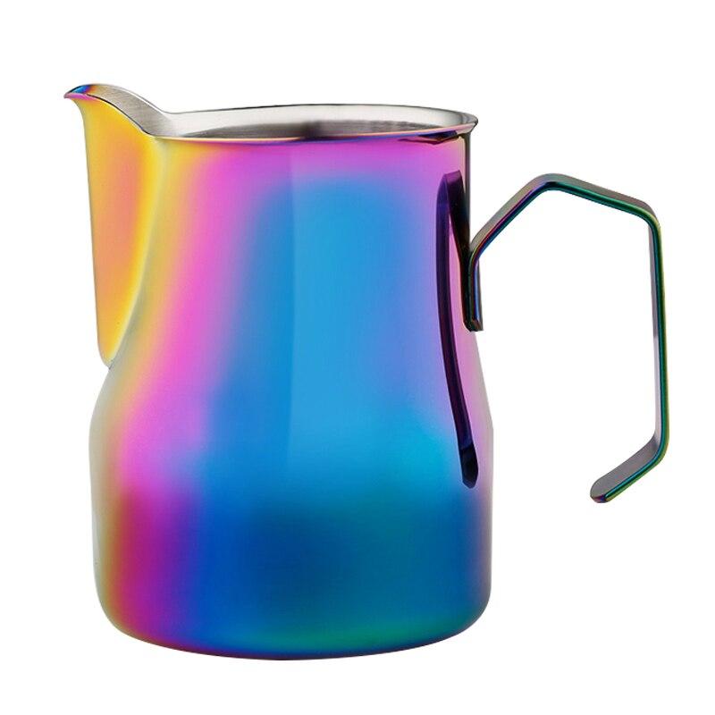 600 ml Jarra de caf/é con espumador de leche con term/ómetro integrado acero inoxidable