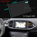 7 Inch GPS Navigation Screen Steel Protective Film For Peugeot 308 Control of LCD Screen Car Styling Sticker