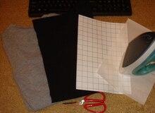 Темной струйный листы текстиль формата передача железа краски тепла бумага футболки