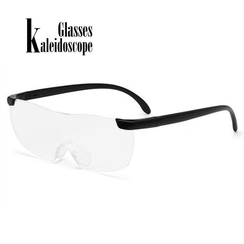 Reading Glasses Men Women Frameless magnifying 1.6 times +250 Degrees Magnifies Eyeglasses Presbyopic