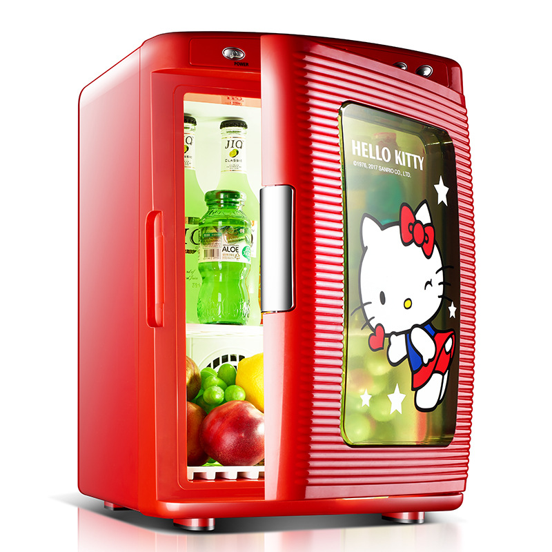 25L Portable Car Refrigerator Household Dormitory Small Refrigerator Low Noise Refrigeration Heating Two In One Energy Saving