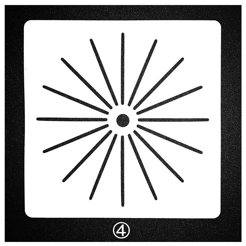 Liberaal Creatieve Halo Lijn Dot Stencils Voor Schilderen Scrapbooking Stempel Cake Decorating Tool Embossing Papieren Kaart Album Diy Decoratie