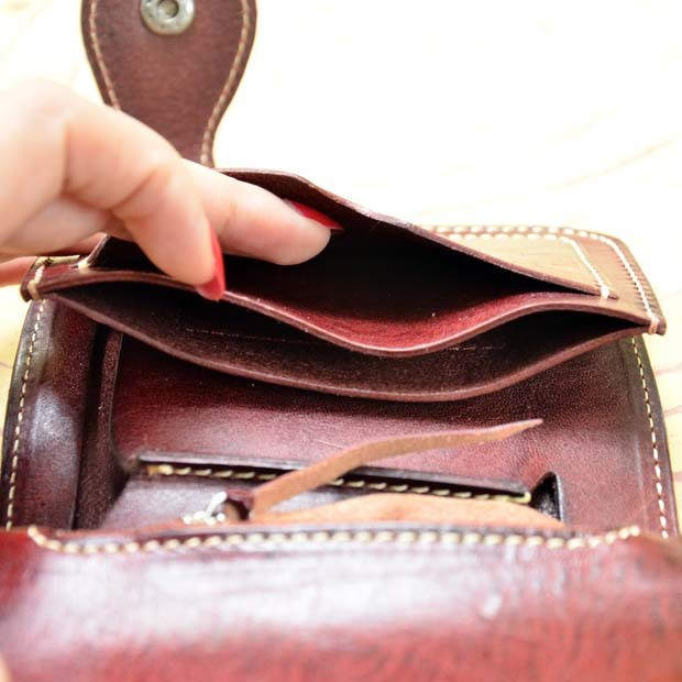 Genuine leather wallet 9