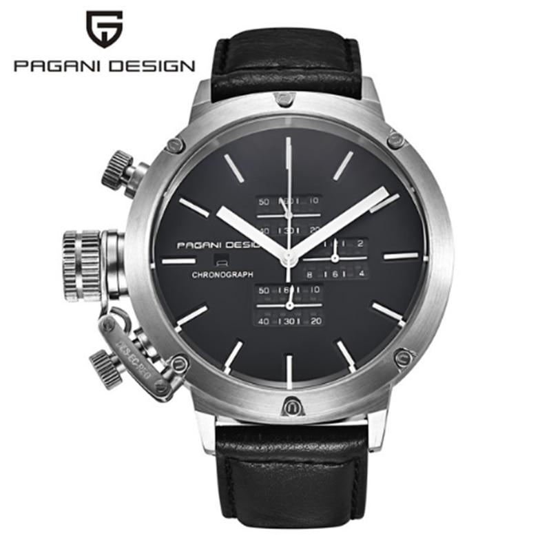 PAGANI Дизайн Спортивные часы для мужчин погружения многоцелевой Уникальный инновационный хронограф для мужчин часы...