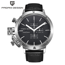 PAGANI DESIGN Sport Watches Mens Dive Multipurpose Unique Innovative Chronograph Watch Multifunction Waterproof watch