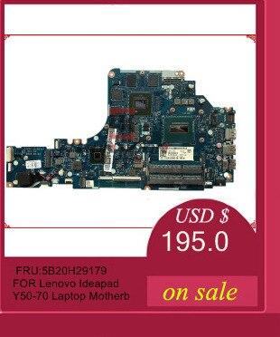 5B20G57048 For Lenovo Ideapad Y50 70 Laptop Motherboard ZIVY2 LA