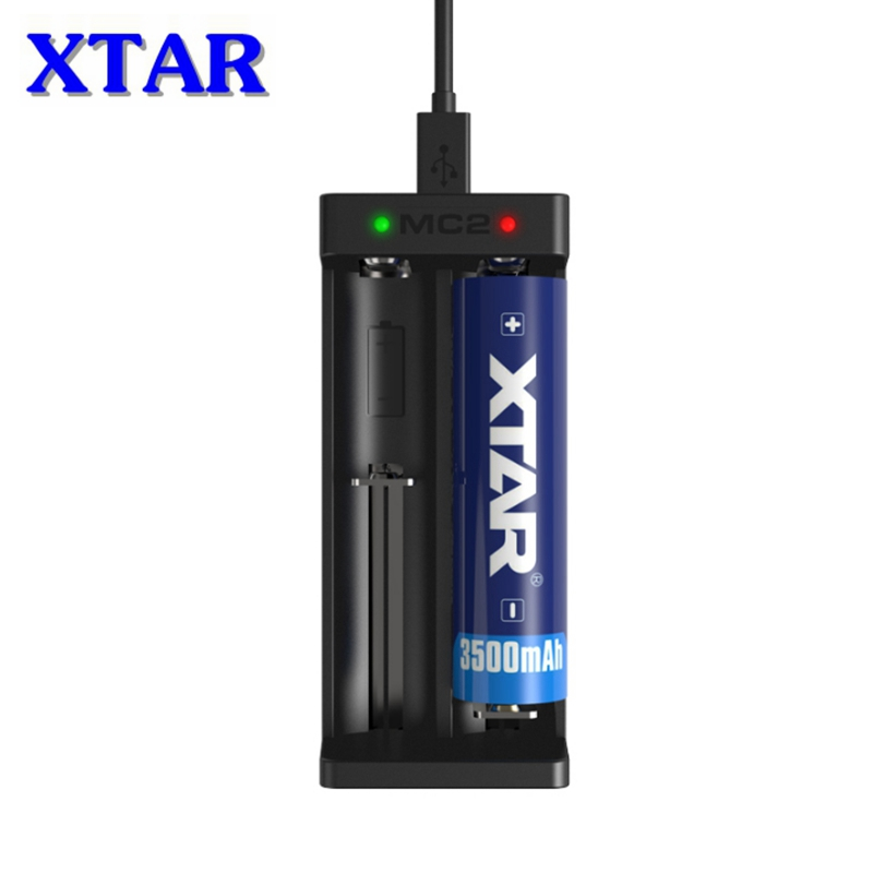 Original <font><b>XTAR</b></font> MC2 USB Li-ion Battery <font><b>Charger</b></font> Universal 3.7V for 18650 20700 21700 14500 16340 10440 26650 Battery <font><b>Charger</b></font>