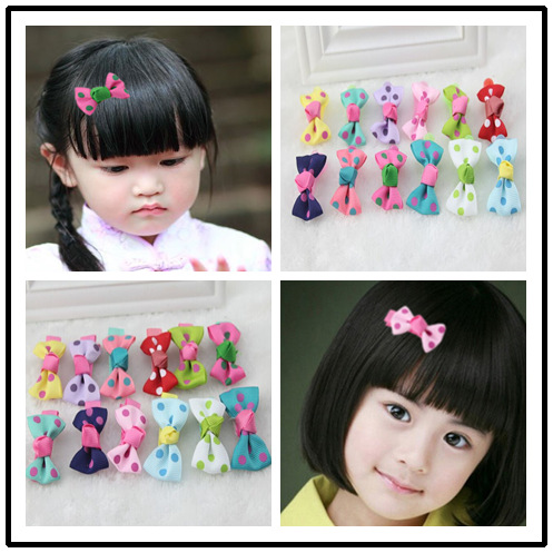 6925 elastic band bracelet summer style hair accessoriesbaby girl headband clips gum weave baffle braided bow bandana ornaments