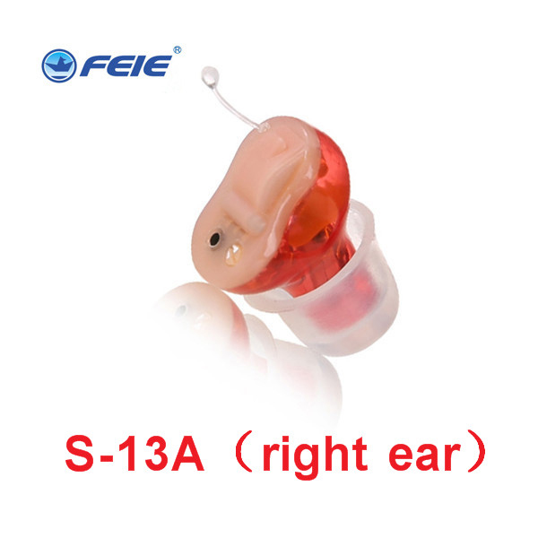 Feie Best Voice Amplifier Mini Digital CIC Invisible Hearing Aids for Hearing Loss