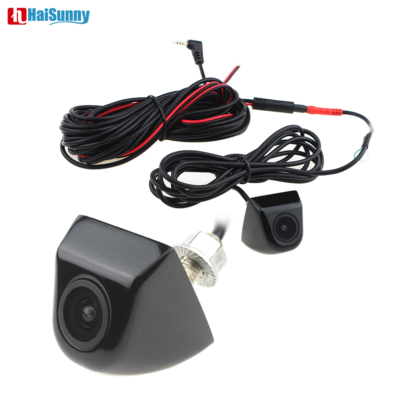 160 Degree View Angle Car Parking Backup Metal Body Camera 6-layer Glass Lens 2.5mm Jack 4 Pin For Car DVR Mirror Recorders