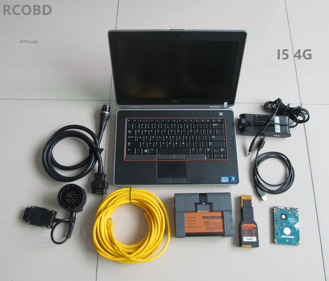 for bmw icom a2+hdd 500gb newest software 2019.03+laptop E6420 I5 4g (ista d 4.14 ista p 3.65) expert mode window7 ready to use