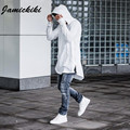 Jamickiki Spring Autumn Hoodies Full Sleeve Kangaroo Pocket Side Zippers Streetwear Hip Hop Pullover Men Sudaderas Hombre H03