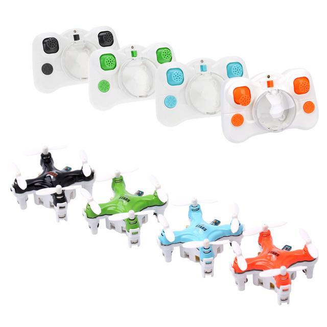 4 cores cheerson cx-estrelas crianças brinquedo rc mini quadcopter zangão helicóptero de controle remoto 2.4g 4ch 6 eixos dron