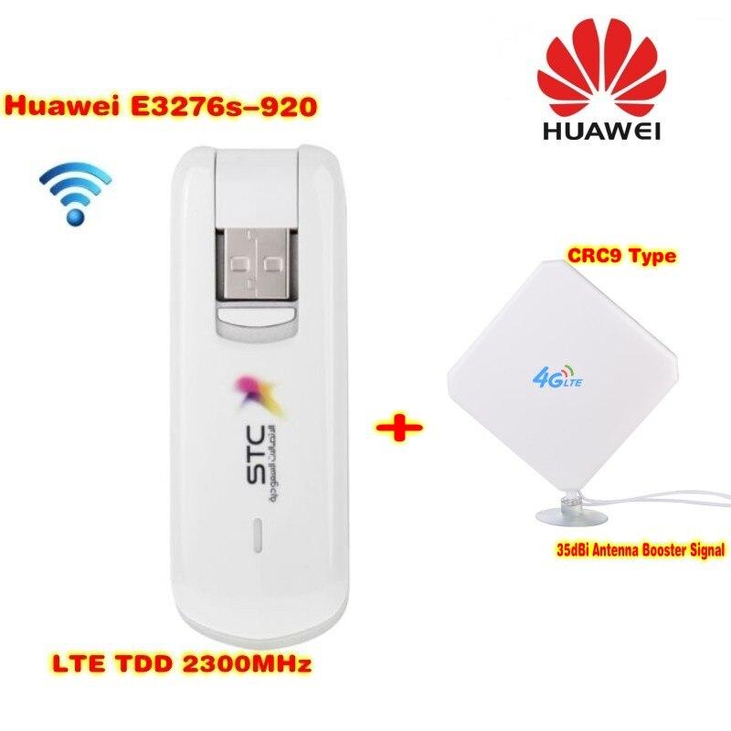 HUAWEI E3276s E3276s-920 LTE TDD USB modem +35dbi 4G TS9 antenna unlocked huawei e3372 e3372s 153 150mpbs 4g lte usb dongle 4g lte antenna 35dbi crc9 for e3372 4g lte fdd modem