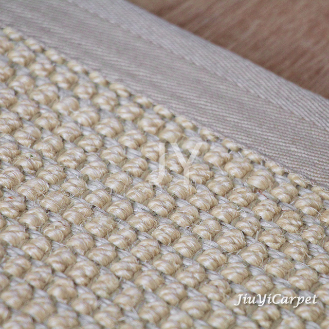Sisal Large Thread Carpets Eco Friendly Wear Resistant Floor Mats Rugs Bedroom Living Tea Table 2 3m