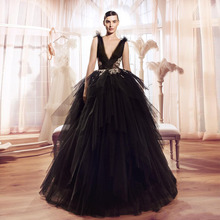 0adbc4a29a145 Buy puffy tulle black dress and get free shipping on AliExpress.com