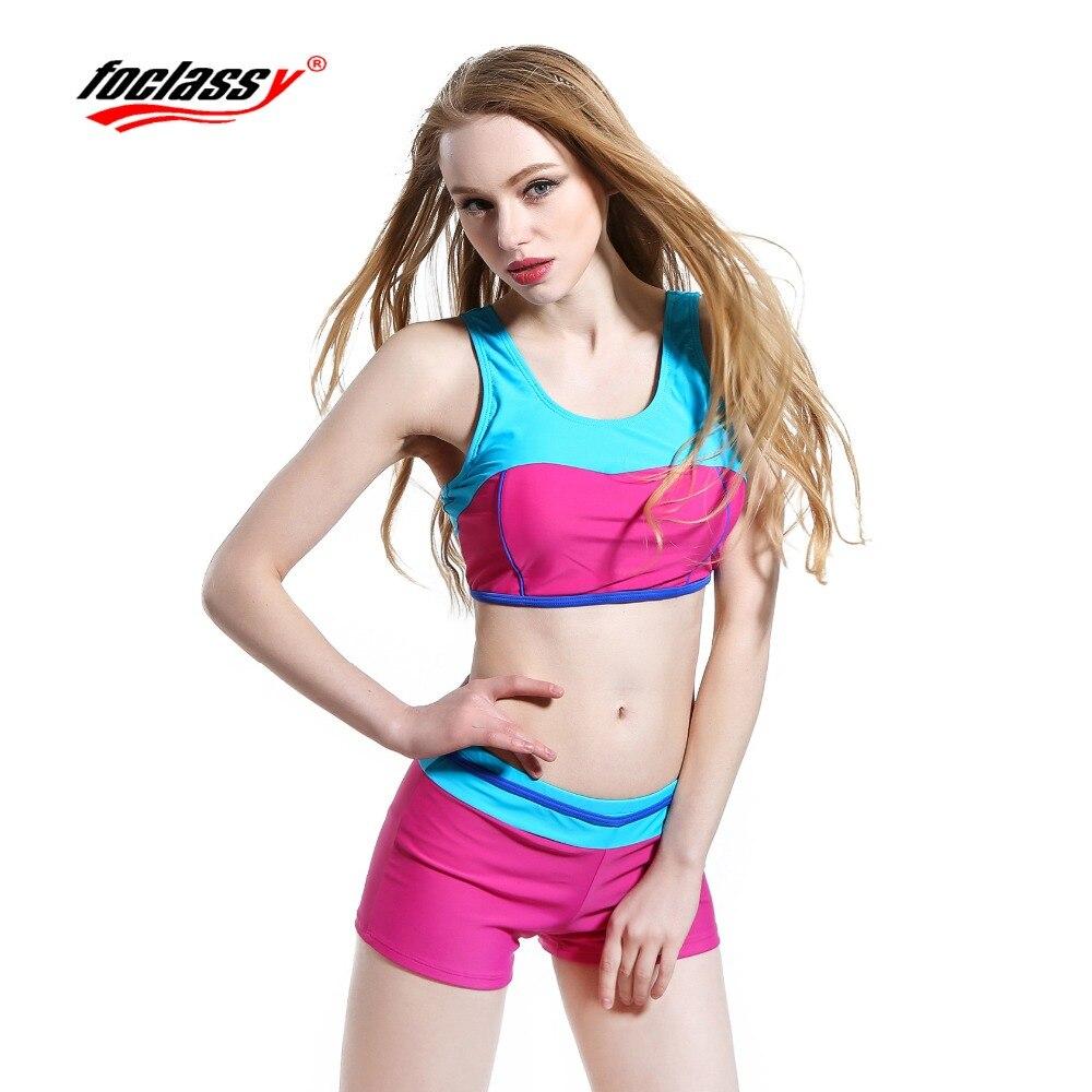 Neue Ankunft Bademode 2017 Bikini Push Up Bodybuild Sport Badeanzug - Sportbekleidung und Accessoires