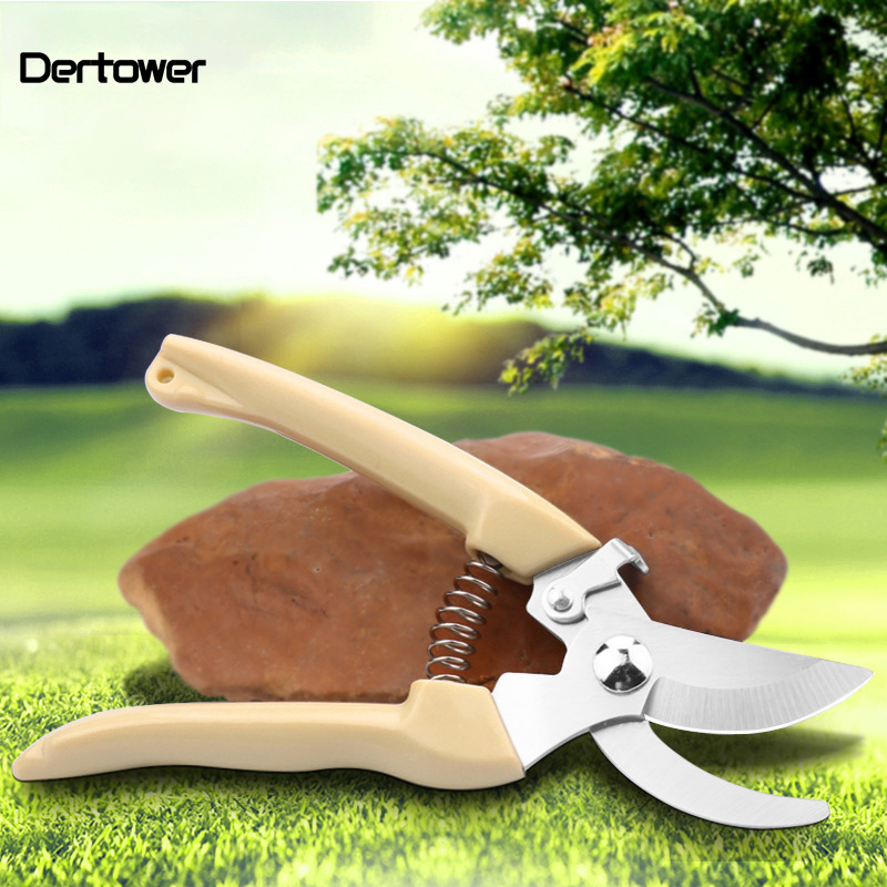 Garden Tools Scissors Grafting Fruit Tree Flower Pruning Shears Bonsai Pruners  Labor-saving Pruner Mini Cutting  DT6