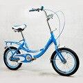 Детский велосипед 16-дюймовый легкий многоцветный Каркас Легкий захват для городской езды на велосипеде для студентов и женщин