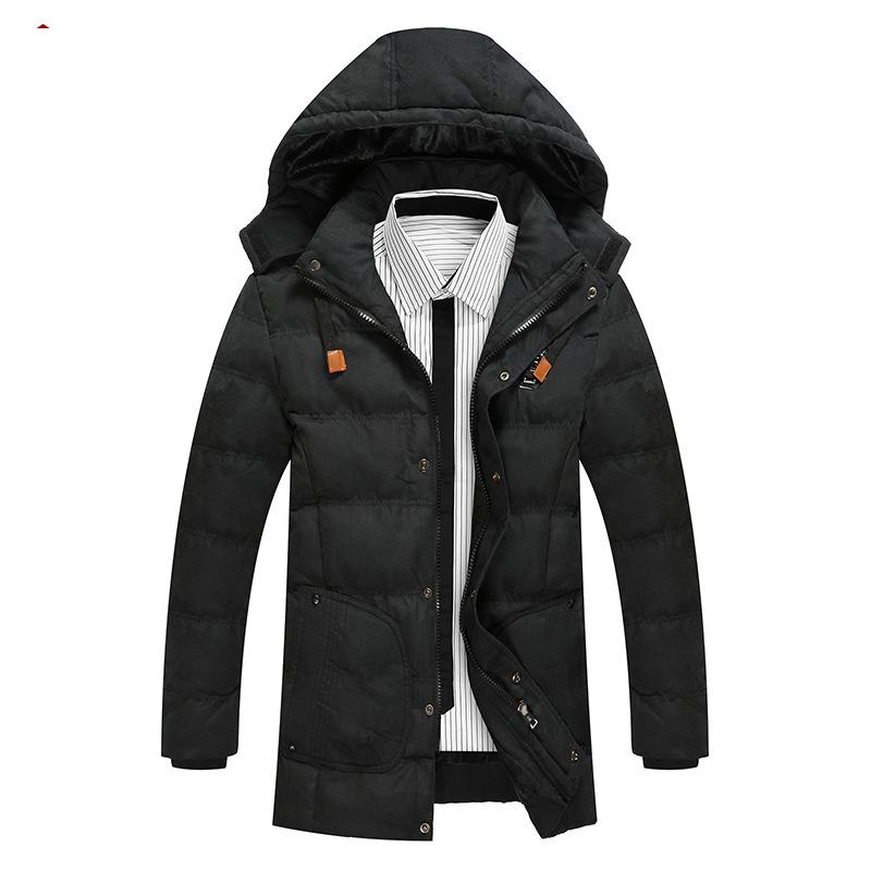 Adibo Mens Winter Jackets Men Winter Jacket Men Coat With Hat Goose Down Coats Manteau Homme Hiver Abrigos Hombres Invierno thick winter jacket men coat winter mens jackets and coats parka manteau homme hiver abrigos hombres invierno hot sale 033