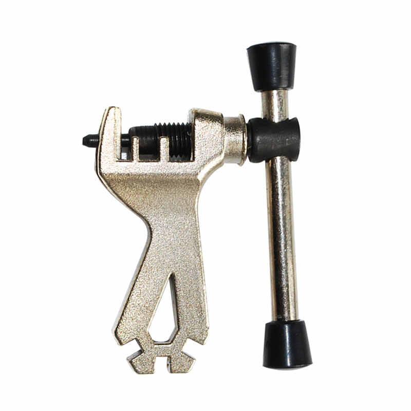 2 in1 Нержавеющаясталь Велоспорт велосипедная цепь ключ Цепь выключателя Splitter инструмент для ремонта Наборы с спицевой ключ инструменты для ремонта велосипеда