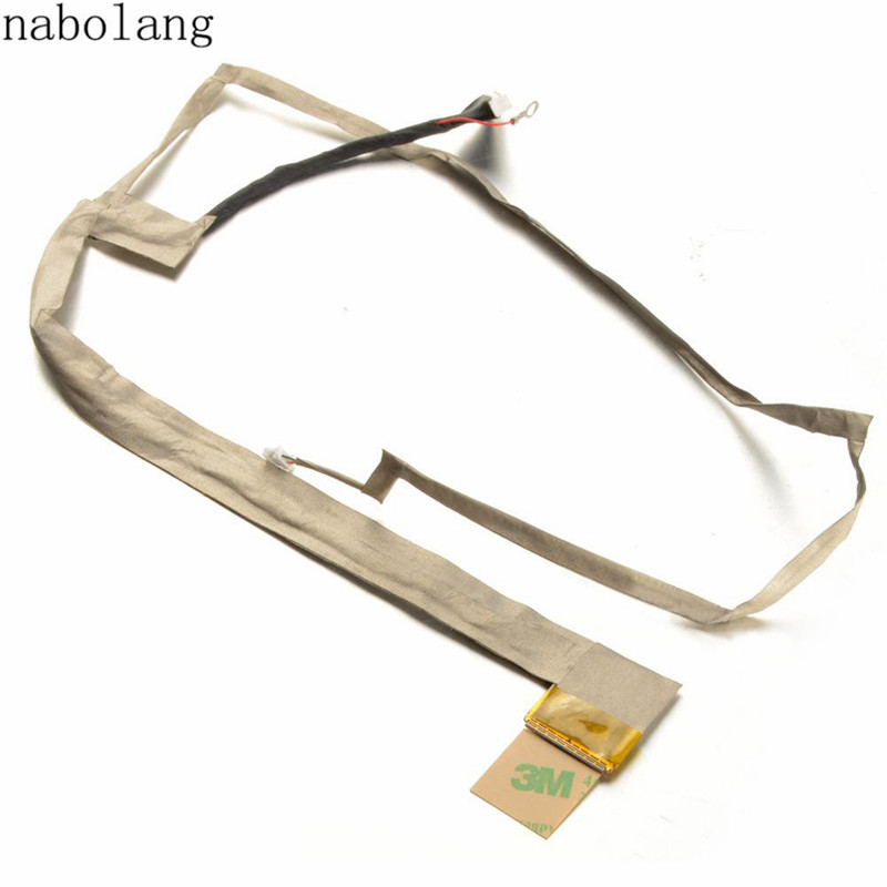 Nabolang LCD Screen Video Flex Ribbon Cable For Asus K72 1422-00NC0AS Long BDRG tablet lcd flex cable for microsoft surface pro 5 model 1796 lcd dispaly screen flex cable m1003336 004