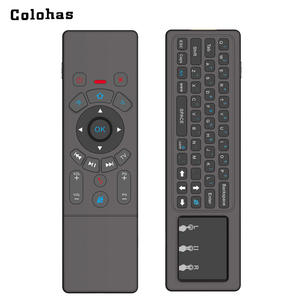 58310eefc1a 2.4 GHz Mini Keyboard for Computer Android TV Box HTPC Wireless Fly Air  Mouse QWERTY