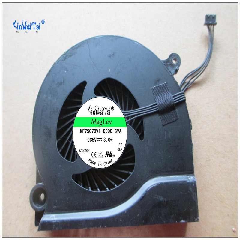 Laptop CPU cooling fan for KIPO FANL800EPA 5V 0.5A Cooling Fa laptop cpu cooling fan for auras bc07511lmspaa 5v 0 45a cooling fa