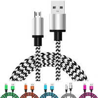 Usb Cable Charging Cables Mobile Phone Charger Cord Data For Xiaomi for Samsung