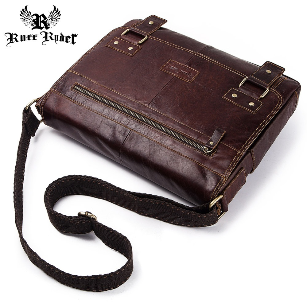 RUFF RYDER 100% Genuine Leather Vintage Men Shoulder Messenger Bag Cowhide Male Crossbody Bags New Fashion Men Leisure Bag FlapRUFF RYDER 100% Genuine Leather Vintage Men Shoulder Messenger Bag Cowhide Male Crossbody Bags New Fashion Men Leisure Bag Flap