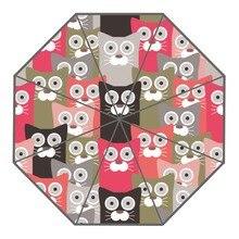 Новое поступление пользовательские Прекрасный мультфильм кошка Зонтики Креативный дизайн высокое качество складной зонтик