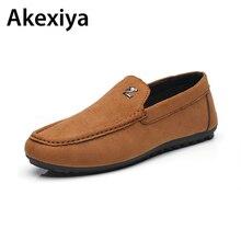 Новое поступление 2017 года Весна Дуг Обувь Для мужчин замши обувь для вождения человек для отдыха повседневная обувь матовые водонепроницаемые Мокасины обувь на плоской подошве AA05