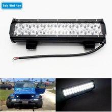 Tak Wai Lee 1Pcs/Set 72W 12Inch LED Work Light Bar For Driving Motorcycle Offroad Truck 4WD SUV Spot Beam DC9-32V Car Lighting