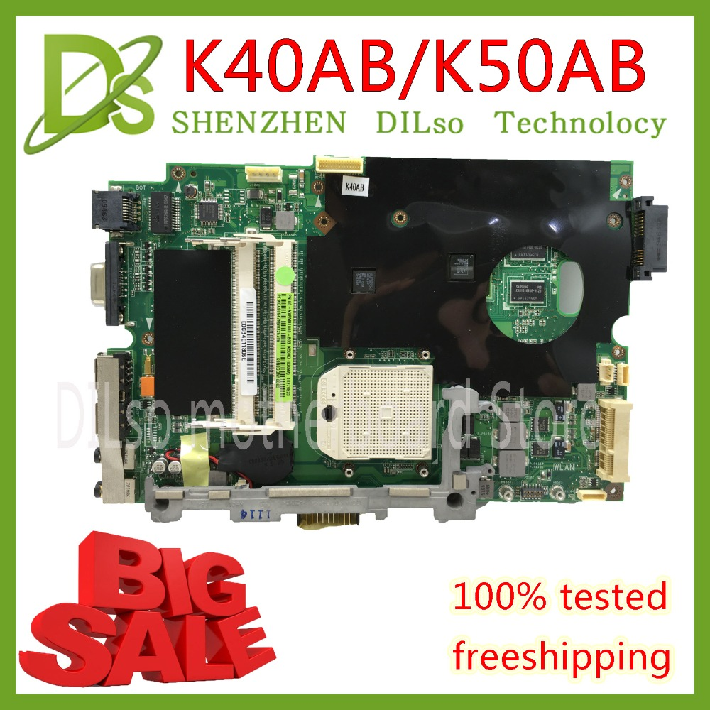 KEFU K40AB motherboard für asus laptop motherboard K40AB K40AD K40AF K50AB K50AD K50AF K40IJ K50IN motherboard Test motherboard