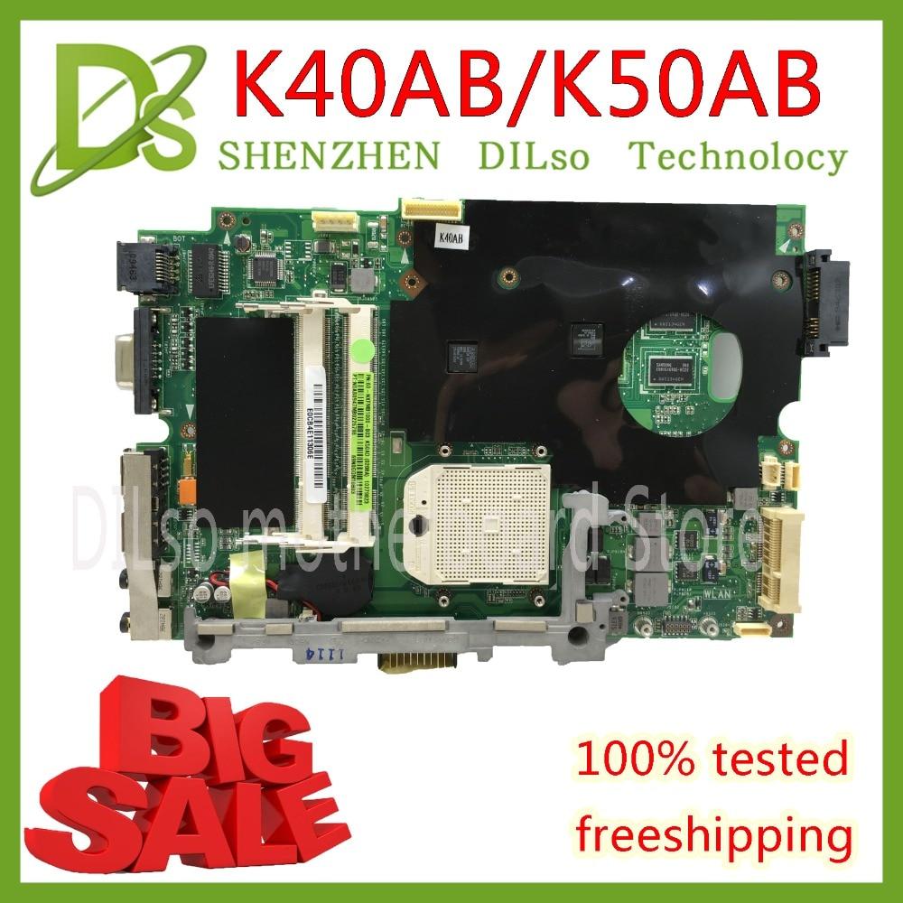 KEFU K40AB motherboard for asus laptop motherboard K40AB K40AD K40AF K50AB K50AD K50AF K40IJ K50IN motherboard Test motherboard