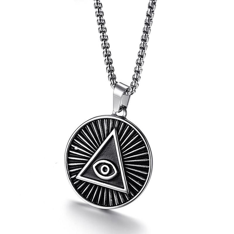 Illuminati All Seeing Eye of Providence Pendant Necklace for