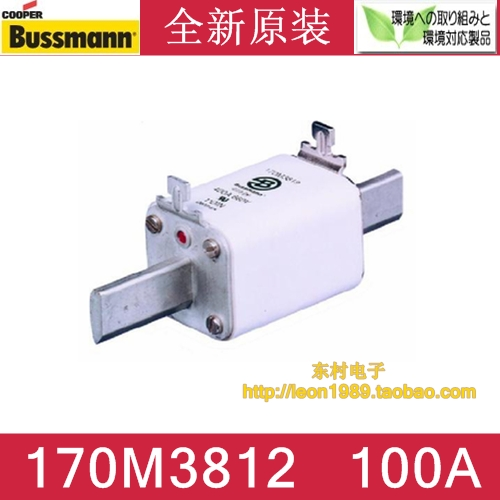 US BUSSMANN fuse 170M3812 170M3812D 100A 690V 700V fuse nicholls d us