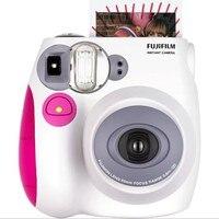 Подлинная Fuji Fujifilm Instax Mini 7S камера мгновенная печать пленка для фотосъемки фото бумага розовый синий камера подарок свадьба