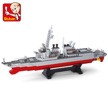 615pcs Military Army Navy Destroyer Warship Model Building Blocks Sets Weapon Ship Bricks Toys For Children цена и фото
