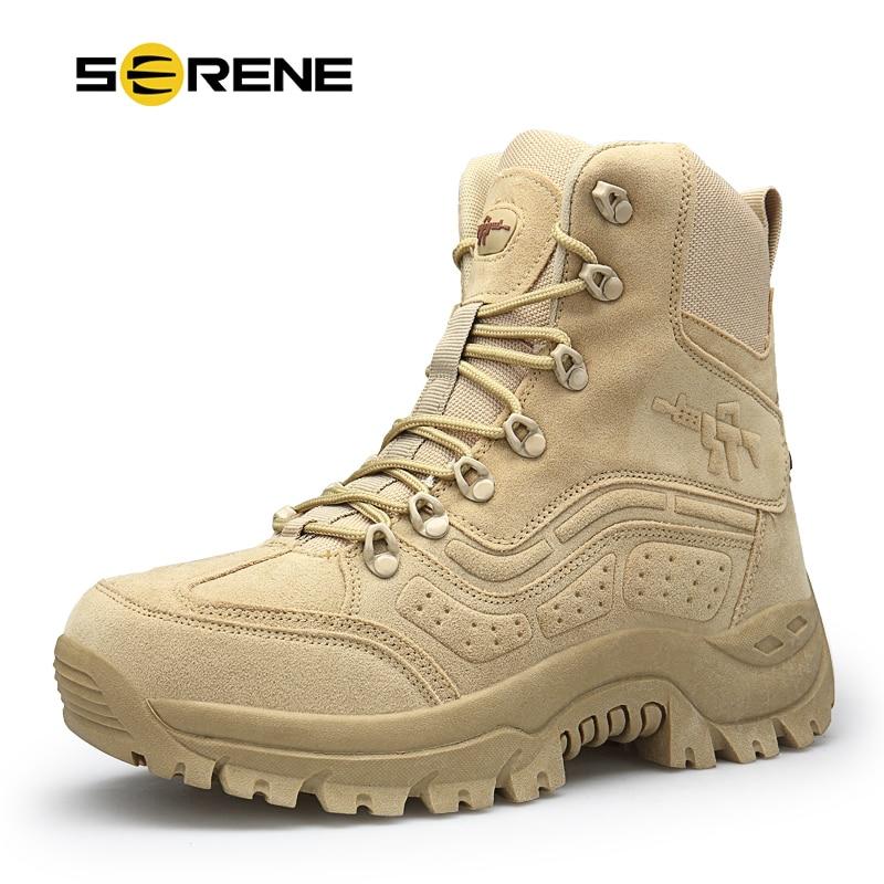 Chukka Tactique Taille Pour Sécurité Mens Militaire Chaussures Hommes Boots Moto Cheville Armée Botte Boots Black Combat Serein Nouvelle sandy Marque Homme Grande Bottes Bot pI5wx7vq