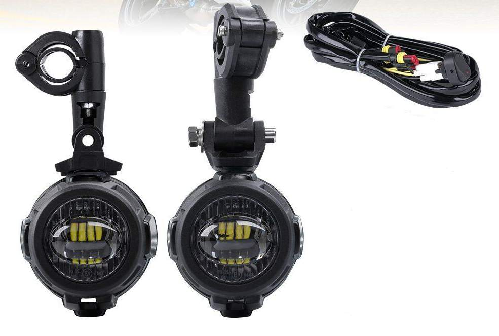 1 2pcs Spot LED Auxiliary bgFog Light Safety Driving Lamp Motorcycle for BMW R1200GS dc.jp1g.jp1g_14__