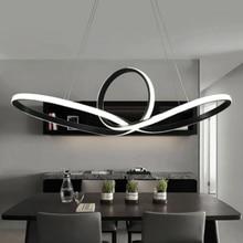 Современные светодиодные люстры для обеденный Кухня комнаты lampadari moderni a sospensione AC85-265V висит подвесная люстра